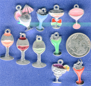 Assorted Cocktail Charms