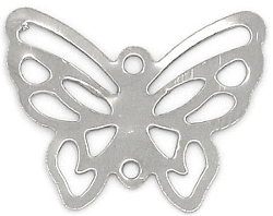 butterfly connector charm
