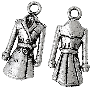 raincoat charm, fashion charm