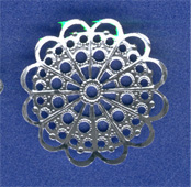 Aluminum Filigree Pieces