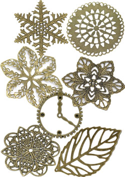 bronze filigree