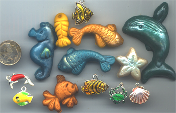 Mixed Media Ocean DwellersParts Pack