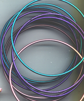 Colorful Metal Wire Bracelets